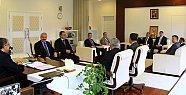 İl Genel Meclisi'nden Vali Ali ÇINAR'a ziyaret