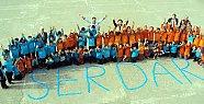 Serdar'dan Projeye 10 Bin Kapaklı Destek