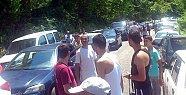İnkumu ve Amasra'da Trafik Felç