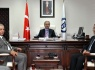 Irak heyetinden Rektör Kaplan'a ziyaret