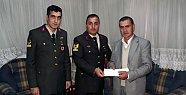 Jandarma Şehit Ailelerini Unutmuyor