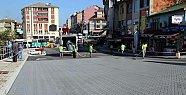 Kemer Meydanına Renkli Asfalt