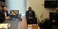 Kongo Cumhuriyeti Büyükelçisinden Tunç'a Ziyaret