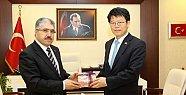 Kore Büyükelçisi Sangkyu Bartın'da