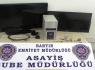 LED TV hırsızları kıskıvrak yakalandı