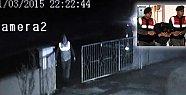 Maskeli Hırsız Güvenlik Kamerasında