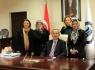 MHP Kadın Kolları'ndan Rektör'e ziyaret