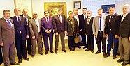 MHP Yönetiminden Akın'a Ziyaret