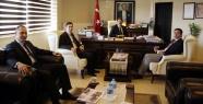 MHP'den Başkan Akın'a ziyaret