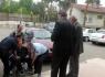 Polisler Engellilere Destek Oluyor