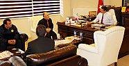 PTT Müdürü'nden Başkan'a ziyaret