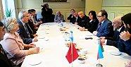 Rektör Kaplan Azerbaycan'da