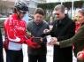 Sarıkamış yolcusu bisikletçiler Bartın'dan uğurlandı