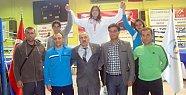 Şennur yine Türkiye Şampiyonu