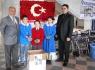 Serdar İlköğretim Okulundan Projeye Destek