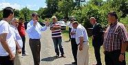 Şiremirçavuş'ta Yol Sorunu Çözülüyor