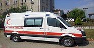 Tam Donanımlı Ambulans Geldi