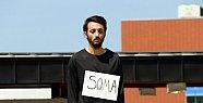 Tek Kişilik Sessiz Eylemle Soma'yı Andı