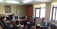 Teknoloji Kulübünden Özdemir'e Ziyaret