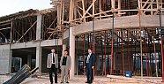 Tunç Gençlik Merkezi inşaatını inceledi