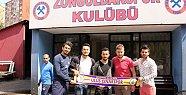 Ulus Çınarspor'dan Elmas'a ziyaret