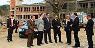 Vali Çınar Abdipaşa ÇPL İnşaatını İnceledi