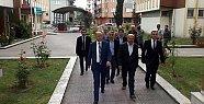 Vali Azizoğlu'ndan Başsağlığı Ziyareti