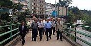 Vali Çınar Çakraz'da