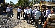 Vali Çınar Yol Çalışmalarını Yakından Takip Ediyor