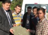 Yalçınkaya Karaman Köyü'nde sac taşları inceledi