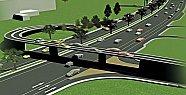 Yeni Kampüse Köprülü Kavşak İnşaatı