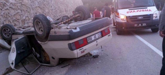 Trafik Kazaları: 2'si ağır 7 Yaralı