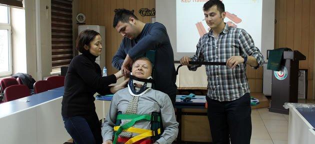 Triaj ve Hasta Taşıma Eğitimi