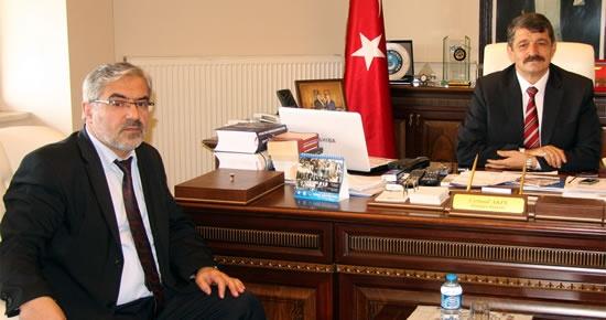 TUDEB Başkanı Akalın'dan Başkan'a ziyaret