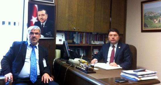 TUDEB Başkanı Akalın'dan Tunç'a ziyaret