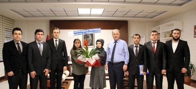 Tügva'dan Vali Azizoğluna Ziyaret