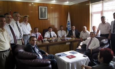 Tunç Abdipaşa Belediyesi'ni ziyaret etti