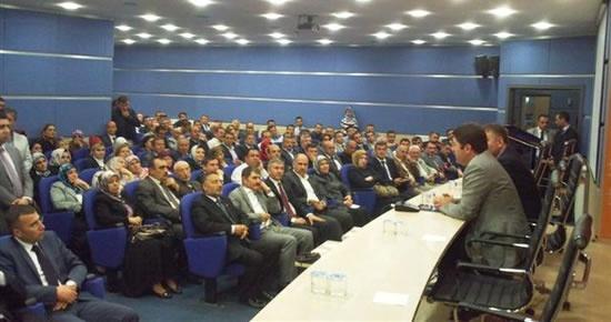 Tunç Ankara il teşkilatının toplantısına katıldı