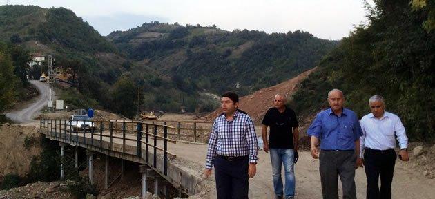 Tunç Baraj İnşaatlarını İnceledi