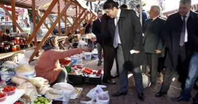 Tunç, Düzce Milletvekiliyle Amasra'da esnaf ziyaretinde