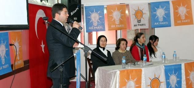 Tunç: İnsan Odaklı Siyaset Yapıyoruz