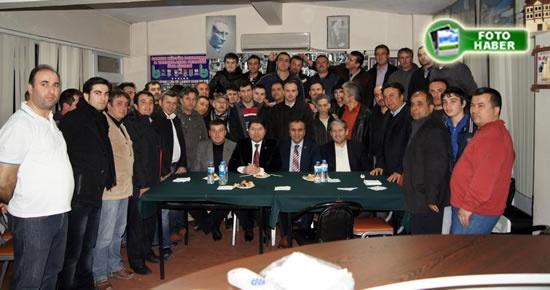 Tunç İstanbul ve Tekirdağ'daki derneklere çıkarma yaptı