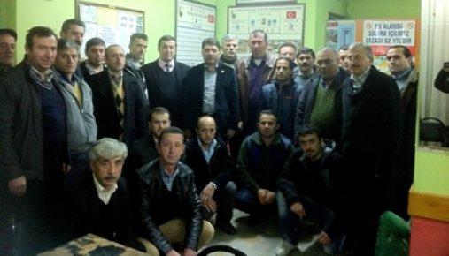 Tunç İstanbul'daki dernekleri ziyaret etti