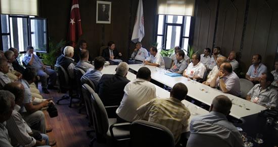 Tunç Kurucaşile teşkilatıyla Meclis'te biraraya geldi
