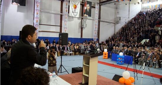Tunç, Sinop İl Kongresi'nde konuştu