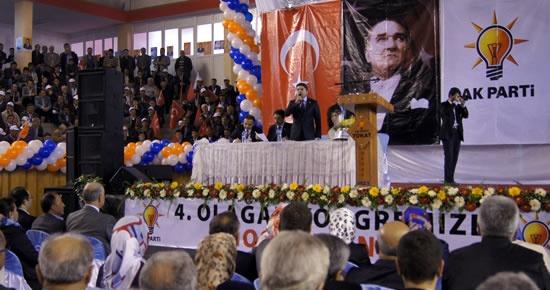 Tunç, Tokat İl Kongresi'nde konuştu