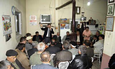 Tunç Ulus köylerinde vatandaşlarla bir araya geldi
