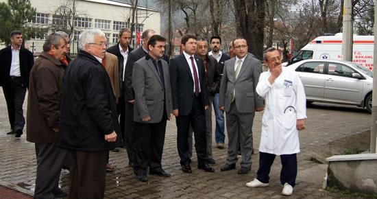 Tunç: Ulus'a yeni Hastane Binası yapacağız