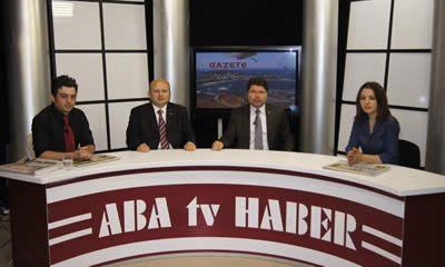 Tunç  ve Kalay Aba TV'deki Gazete Keyfi programına konuk oldu