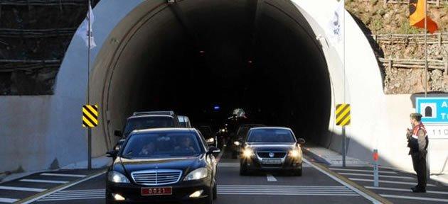 Tunç'tan Amasra Tüneli Açıklaması